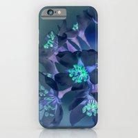 FLOWERS -Blue Blossoms iPhone 6 Slim Case
