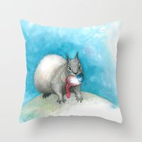 Just This Last One Befor… Throw Pillow