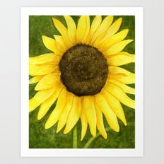 Sunshine On A Stick Art Print