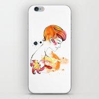 September Girl iPhone & iPod Skin