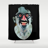 Portrait of Alonso Quijada Shower Curtain