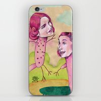 UP AND DOWN FRIENDS iPhone & iPod Skin