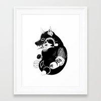 Volf Framed Art Print
