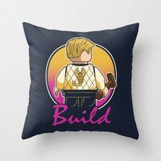 A Real Mini Hero Throw Pillow