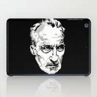 Sir Christopher Lee iPad Case