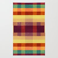 Autumn Winds Abstract  Rug