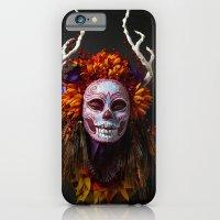 Autumn Muertita Front iPhone 6 Slim Case