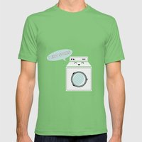 Om Nom Mens Fitted Tee Grass SMALL