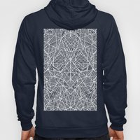 Abstract Lace on Grey Hoody