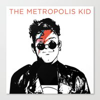 The Metropolis Kid Canvas Print