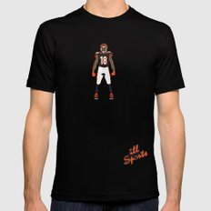 Who Dey? - A.J. Green Mens Fitted Tee Black SMALL