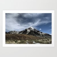 Majesty...the Mountain..! Art Print