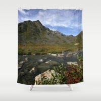 Hatcher Hike - Alaska Shower Curtain