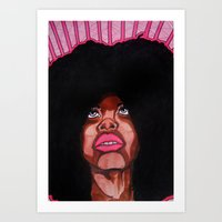 To And FRO Art Print