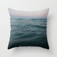 Ocean Traveler Throw Pillow