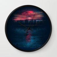The World Beneath Wall Clock