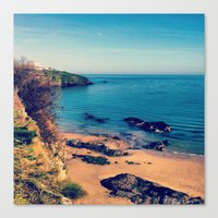 Ripples Of The Ocean Canvas Print