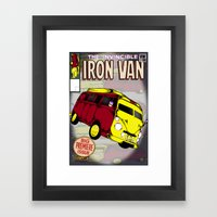 Iron Van Framed Art Print