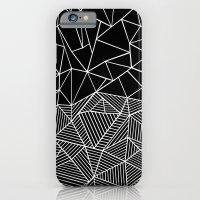 Ab Half And Half Black iPhone 6 Slim Case