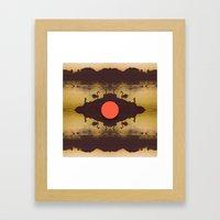 Swaming Framed Art Print