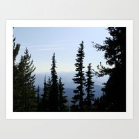 Mt. Adams Wilderness Art Print