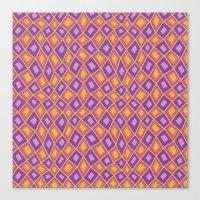 Diamonds are Forever-Fiesta Colors Canvas Print