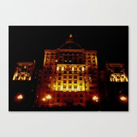 Night Crest 1 Canvas Print
