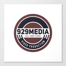 929 Media Canvas Print