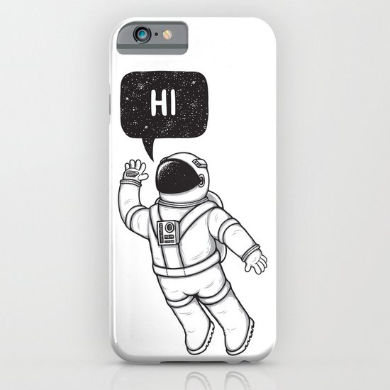 Greetings from space iPhone & iPod Case