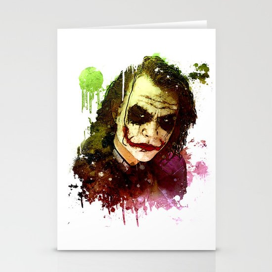 Joker Stationery Card