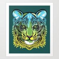 Nocturnal Predator Art Print