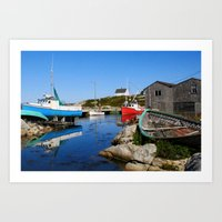 Cove View Art Print