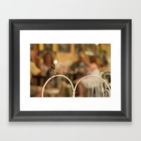 You're young until you're not Framed Art Print