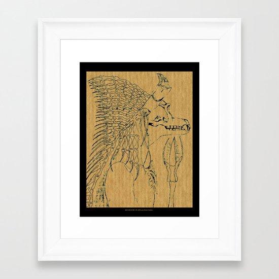 Bad Medicine 1 Framed Art Print