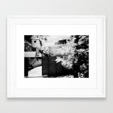 Haiti - Kodak BW400CN  Framed Art Print