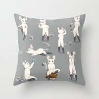Thorodrin Cat Throw Pillow