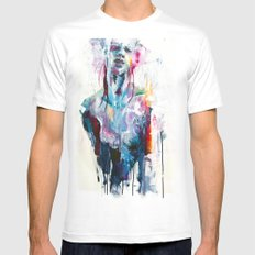 Nothing Is Enough Mens Fitted Tee White SMALL