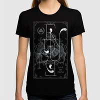 ENDURE LIONS Womens Fitted Tee Black SMALL