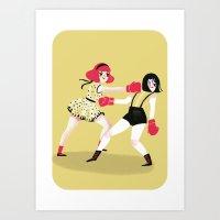 GIRLS! Art Print
