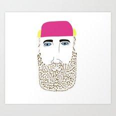Beardo Incogneatto Art Print