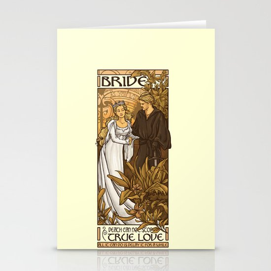 Bride Stationery Card