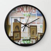 Store window  Wall Clock