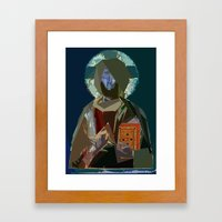 Saint Framed Art Print