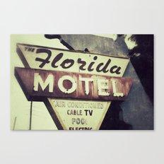 Florida Road Trip Canvas Print