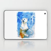 Polar Bear Inside Water Laptop & iPad Skin