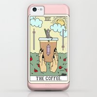 iPhone 5c Case featuring COFFEE READING by Sagepizza