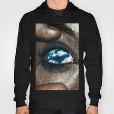 Ojos Color Cielo Hoody