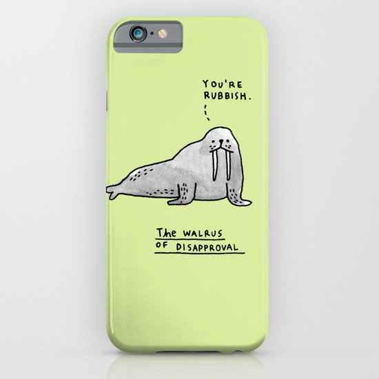 The Seal of Approval and Friends iPhone & iPod Case
