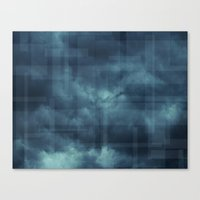 Cotton Candy Clouds Dar… Canvas Print