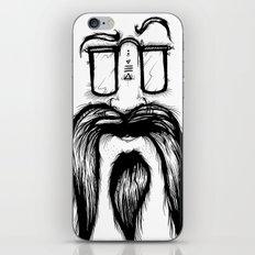 Blackie Beardy Face iPhone & iPod Skin